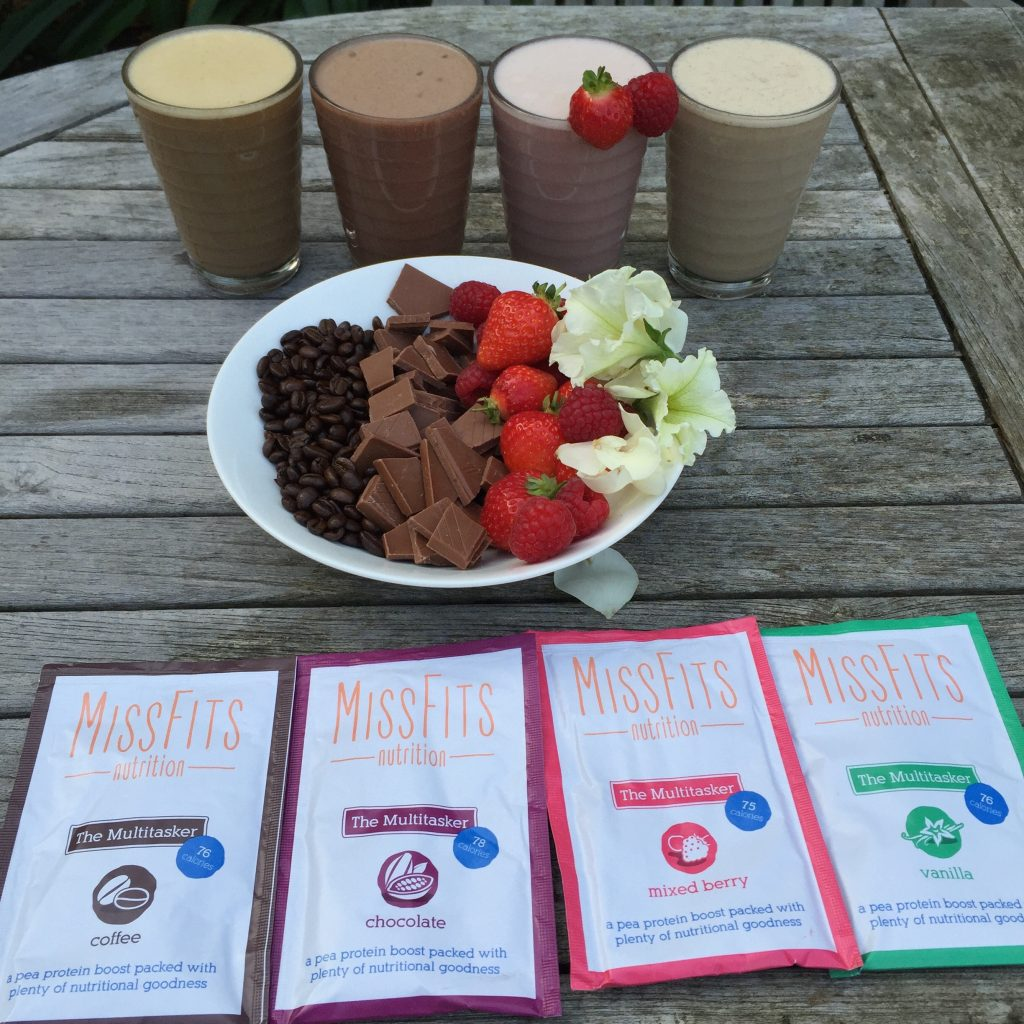 Missfits vegan protein powder bikini girls diary