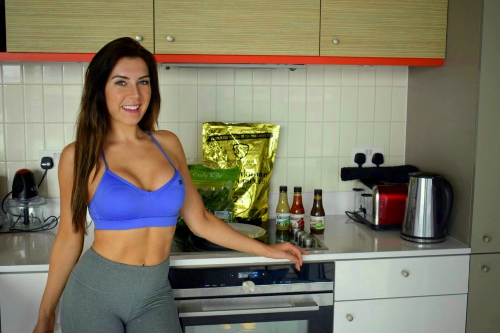 gold standard nutrition bikini girls diary healthy meal delivery