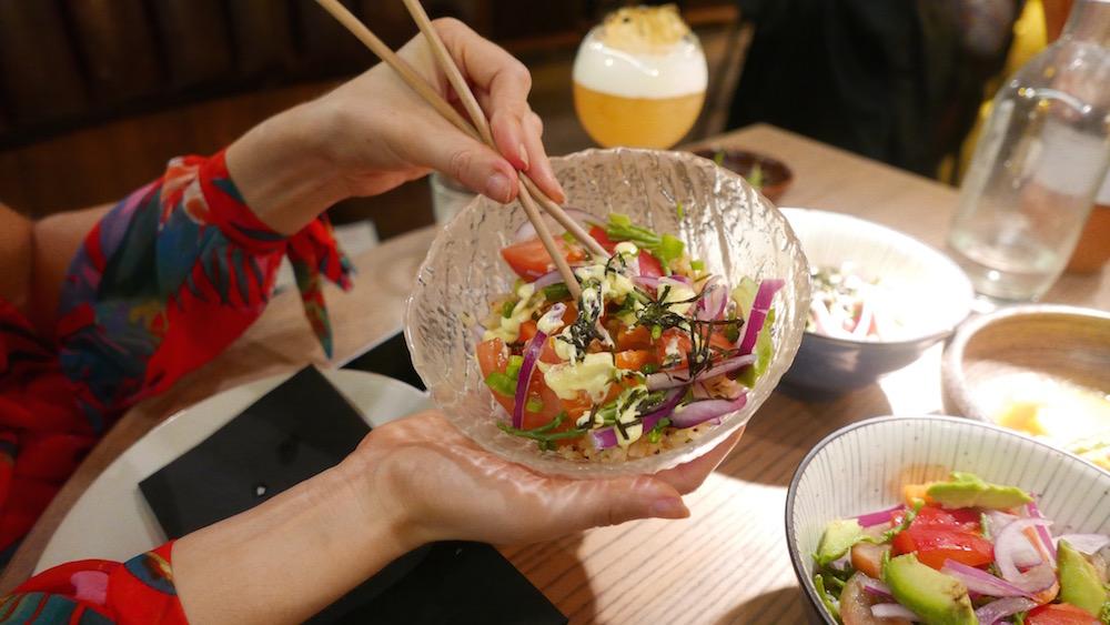 Edamame Vicky REVIEWED: London's TOTALLY gluten free Japanese restaurant Mommi restautant - Bikini Girls Diary